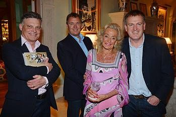 "Jason Laskey, Mark Hellier, Terry Allen Kramer, Michael James== TERRY ALLEN KRAMER Hosts Party For Designer NICKY HASLAM's New Book "" Nicky Haslam, A Designer's Life"" by Rizzoli== Private Residence, South Ocean Avenue, Palm Beach, Fl== March 11, 2015== ©Patrick McMullan== Photo - PATRICK MCMULLAN/PatrickMcMullan.com== =="