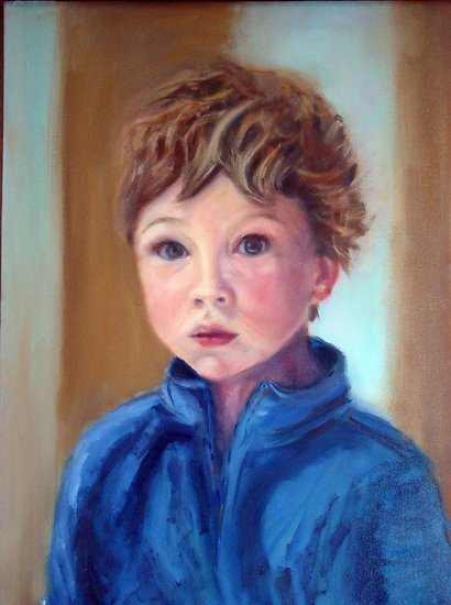 Theo - oil on canvas