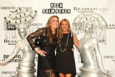2015 American Cancer Society Rock Palm Beach Gala Co-Chairs, Lori Stoll and Shelley Menin