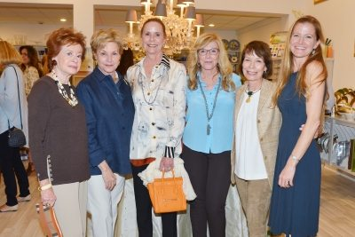 Susan Cohon, Ellie Block, Cynthia Berenson, Mary Mahoney, Peggy Trethewey, Shannon Porthault. ©Patrick McMullan