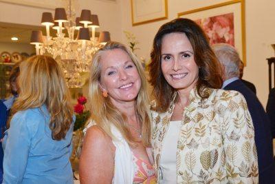 Virginia Dadey, Yelitza Karolyi. Mary Mahoney Hosts an Open House== 336 Worth Avenue, Palm Beach ©Patrick McMullan