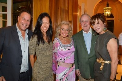 Jeff and MeiSze Greene, Terry Allen Kramer, the Honorable Brian Mulroney and Mila Mulroney ©Patrick McMullan