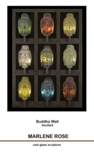 """Buddha Wall"" by Marlene Rose"