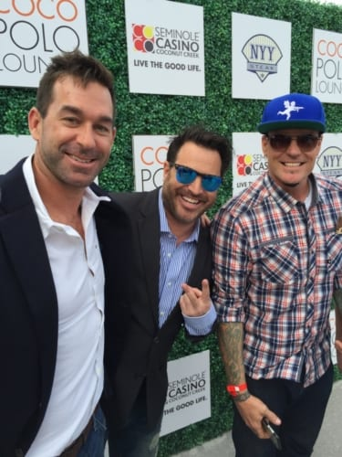 XX, Josh Sagman, and Vanilla Ice at IPC Coco Polo Lounge