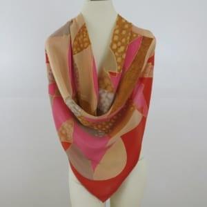 Irina Grammatina hand painted silk scarf