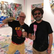 Mr. Brainwash and Contessa