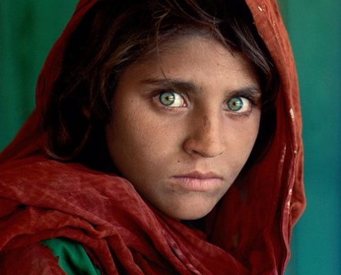 Afghan Girl, Steve McCurry