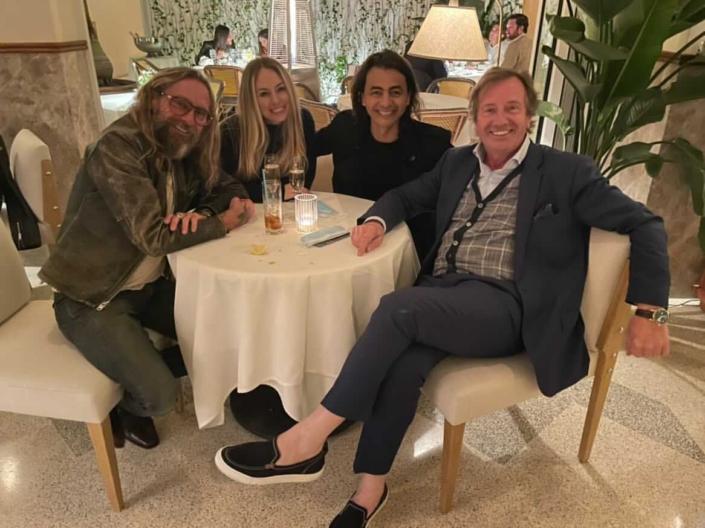Bernard, June, Dris and Philippe