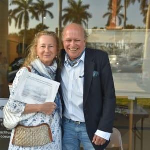 Priscilla Rattazzi and Christophe von hohenberh